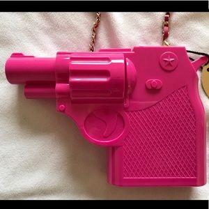 Hot pink handgun purse